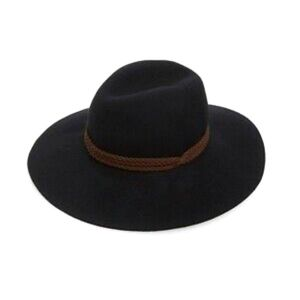 Black floppy wool hat - Phase 3